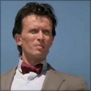 Peter Weller as the 11th Doctor.